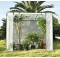 Tomatväxthus 200x80x169/150cm