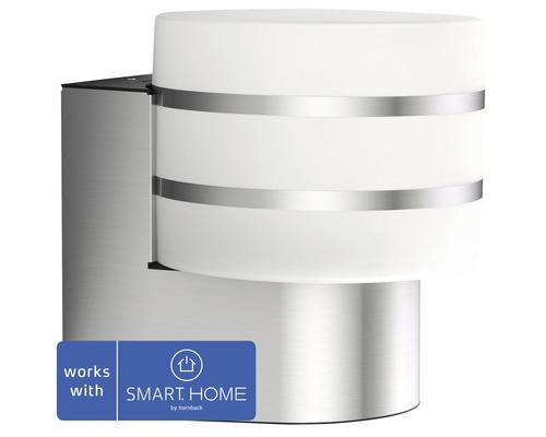 Vägglykta PHILIPS Hue Tuar LED White Ambiance Outdoor 9,5W 806lm 2700K varmvit H 185mm rostfritt stål - kompatibel med SMART HOME by hornbach