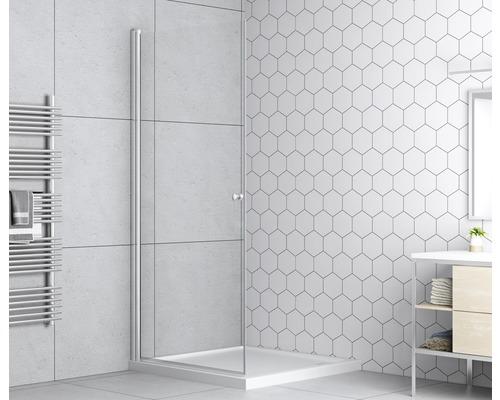 Duschdörr BASANO Modena härdat klarglas krom 900mm