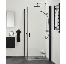 Duschdörr HAFA Igloopro 90 cm svart