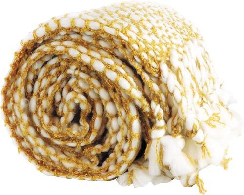 Pläd Pipa 127x152cm mellow yellow