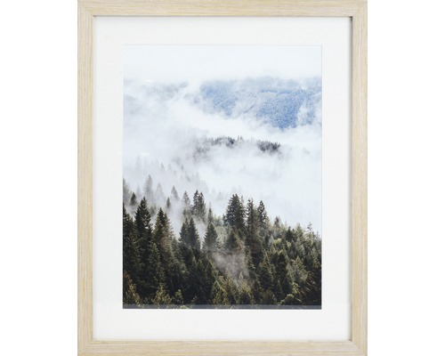 Inramad tavla skog m. PP 40x50cm