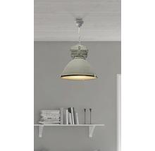 Taklampa BRILLIANT Anouk 1x60W E27 Ø 400mm betong/grå