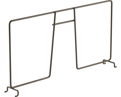 Avdelare ELFA 411 för trådhylla 54x411x200mm Graphite, 100225