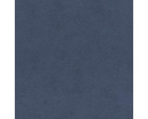 Tapet RASCH Kimono enfärgad blå 408232