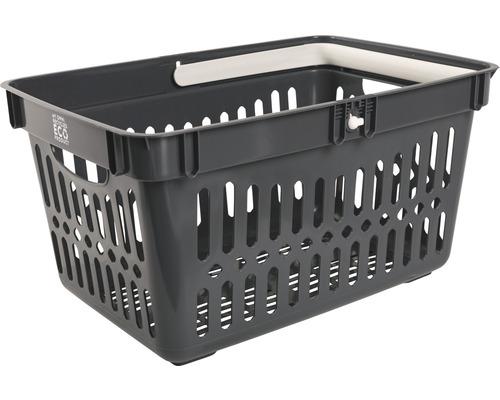 Kundkorg NORDISKA PLAST 27L grå