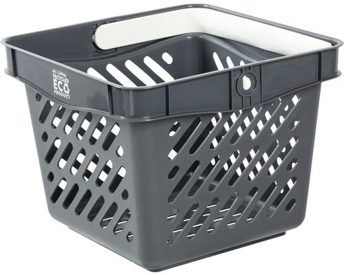 Kundkorg NORDISKA PLAST mini grå