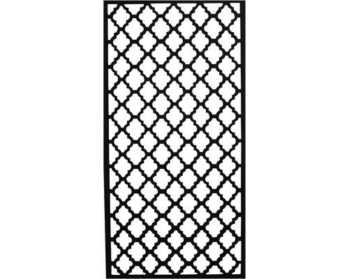 Skärmvägg JABO Levantine 790x1590x18mm komposit svart