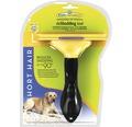 Hundkam FURMINATOR Dog Tool Short Hair L svart/gul