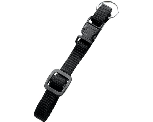 Halsband KARLIE Art Sportiv 1,5x30-45cm svart