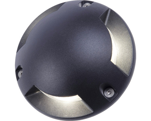 Mark-/väggbelysning BOLTHI Lucas LED 3W 210lm 3000K ØxD 150x53mm IP65 aluminium svart