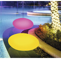 Trädgårdsbelysning BOLTHI Stone LED RGB 4W 264lm LxBxH 320x400x220mm laddbar med fjärrkontroll