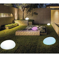 Trädgårdsbelysning BOLTHI Stone LED RGB 2,5W 132lm LxBxH 260x320x180mm laddbar med fjärrkontroll