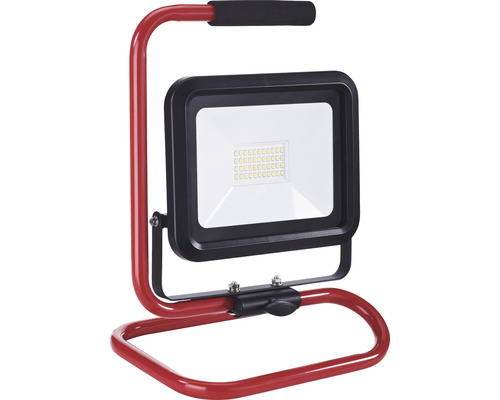Strålkastare MALMBERGS Pollux LED 1x30W portabel med stativ IP54