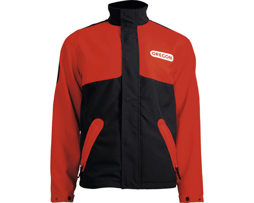 Skogsjacka OREGON Waipoua® svart/röd strl.XL