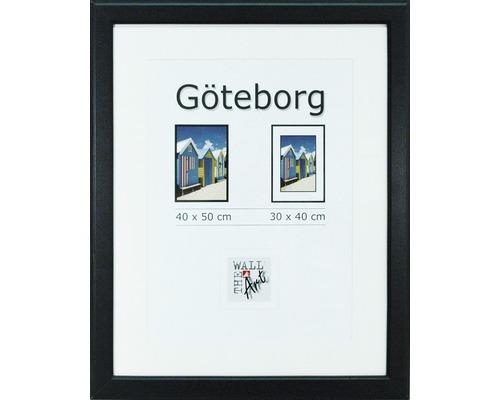 Träram Göteborg 40x50 svart