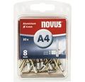 NOVUS Blindnit A 4/8 aluminium