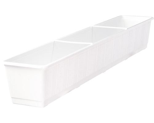 Blomlåda GELI standard plast 100x17x14cm vit