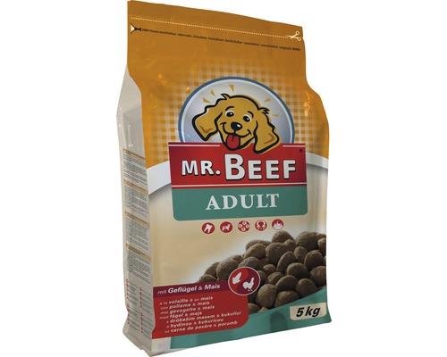 Hundmat MR. BEEF Adult Low Fat fågel och majs 5kg