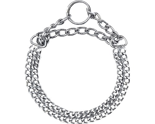 Halsband KARLIE halvstryp 0,2x35cm krom