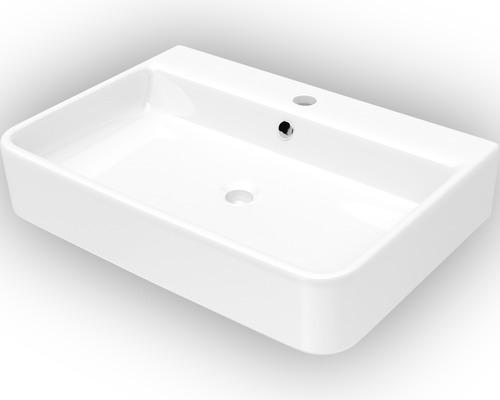 Tvättställ JUNGBORN Salvi vit Nano-beläggning 55,5x40cm