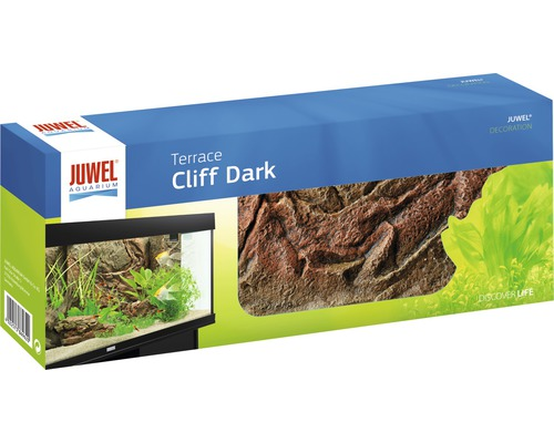 Akvariebakgrund JUWEL Cliff Dark Terrace A 35x15cm