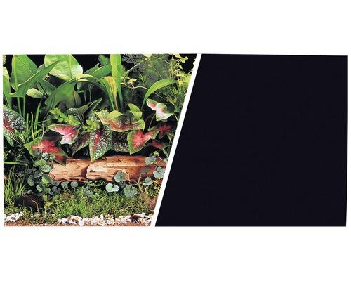 Akvariebakgrund FLUVAL 45cm växter/svart metervara