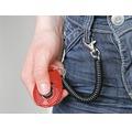Hundleksak KARLIE Speed Clicker med band 6cm sorterade färger