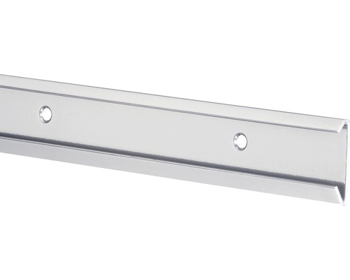ELFA Bärlist för hängskena 1350 mm, platinum, 421380