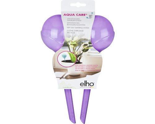 Bevattningskulor ELHO Aqua Care plast 350ml aubergine 2st
