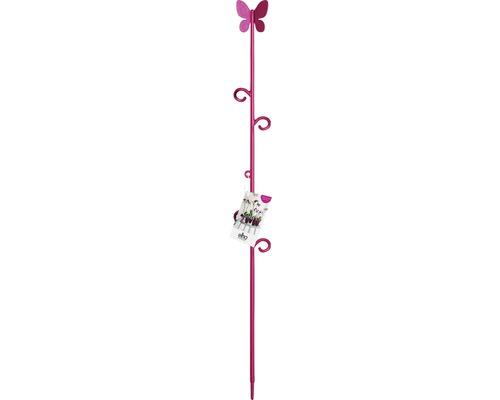 Orkidéstöd ELHO Butterfly rosa