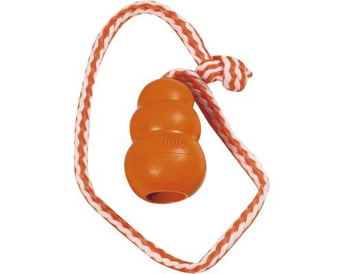 Hundleksak KONG Aqua M orange