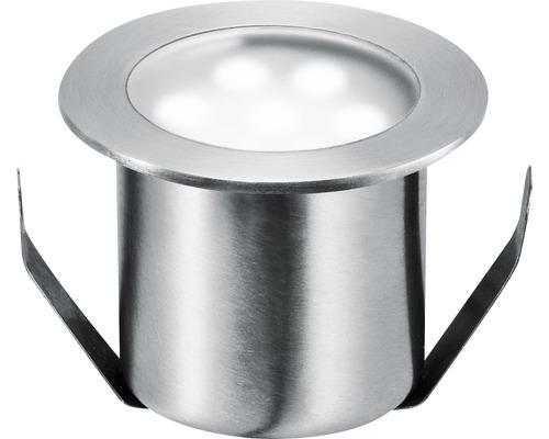 Golvspot PAULMANN Special Mini LED kompletteringssats rostfritt stål med 4 ljuskällor 7000K dagsljusvit Ø 44mm