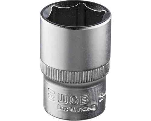 """WGB Sexkantshylsa 1/4"""" 10 mm"""