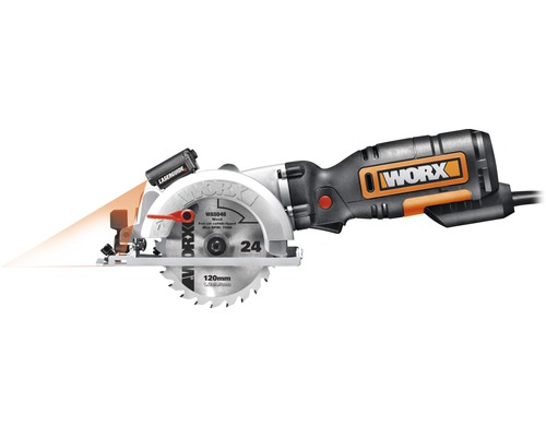 WORX Minicirkelsåg XL WX427, 710 W