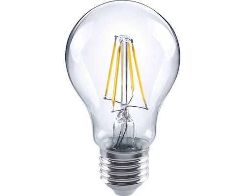 FLAIR Normallampa filament LED 640 lm 5W E27 klar