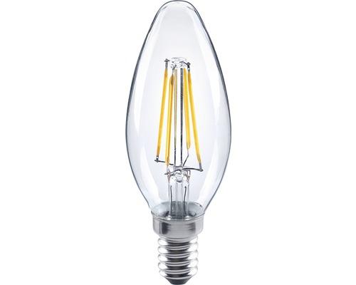 FLAIR LED filament kronljus klar, E14/4W(34W) 350 lm 2700 K varmvit