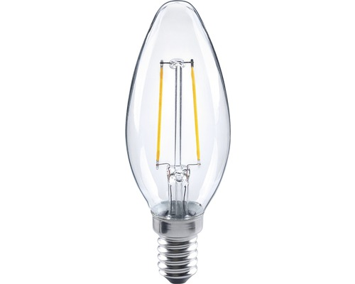 FLAIR LED filament kronljus klar, E14/2W(23W) 200 lm 2700 K varmvit