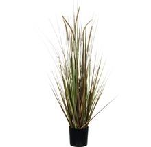 Konstväxt MICA Fjädergräs 92cm brun