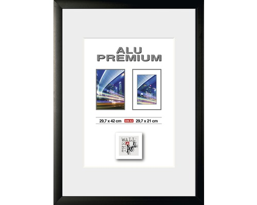 Aluram Quattro 42x29.7(A3) svart