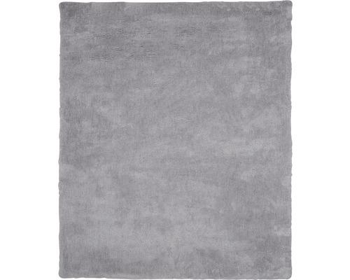 Ryamatta mikrofiber ljusgrå 80x150 cm