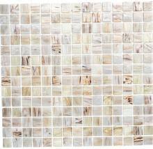 Mosaik glas GM GSL 510 30,5x32,7 cm beige