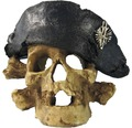 Akvariedekoration dödskalle pirat M