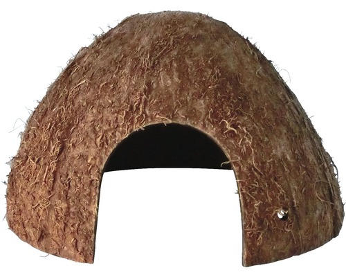 Akvariedekoration kokosgrotta stl 1