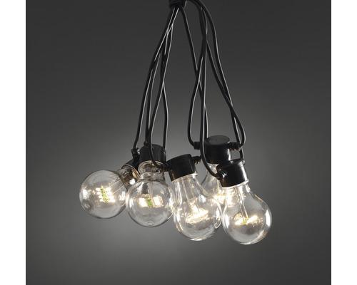 Ljusslinga KONSTSMIDE LED 10 lampor 80 varmvita dioder IP44