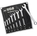 WGB Blocknyckelsats 8 delar 7-24 mm