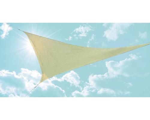 Solsegel GARDEN PLACE trekant beige HDPE 135g 360cm