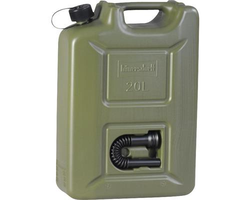 Bensindunk HÜNERSDORFF Proffs 20L grön