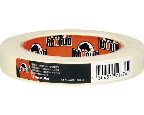 ROXOLID maskeringstejp beige 18mmx50m