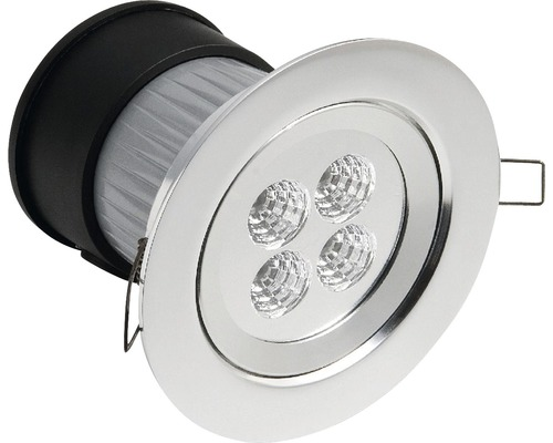 KONSTSMIDE LED inbyggnadsspot, 4W 230V, IP44, 7097-000
